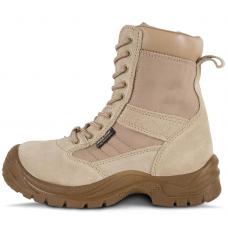 Bota Alta Laboral Color Beige